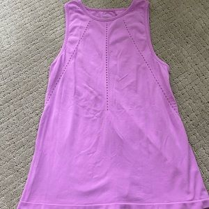 athleta pink tank top